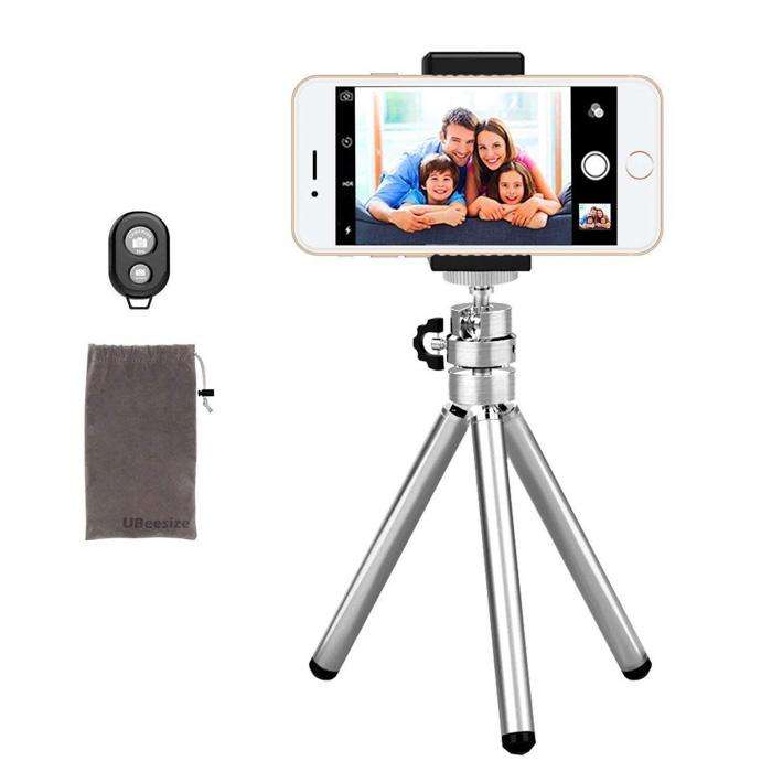 UbeeSize Aluminium smartphone or iPhone tripod