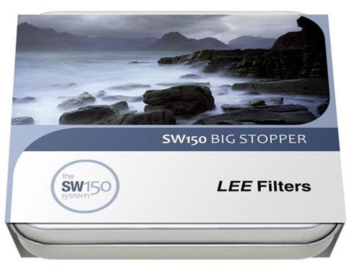 The packaging of LEE filters sw150 nd filter