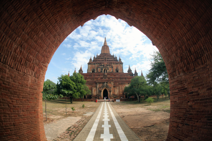 A travel photo of Temples in Bagan, Myanmar