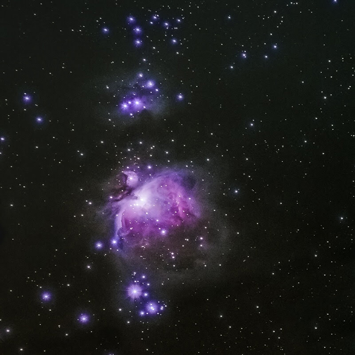 The Great Orion Nebula.