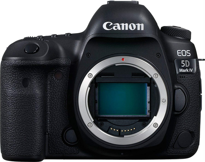 The Canon 5D Mark IV - Best High-End Full frame DSLR