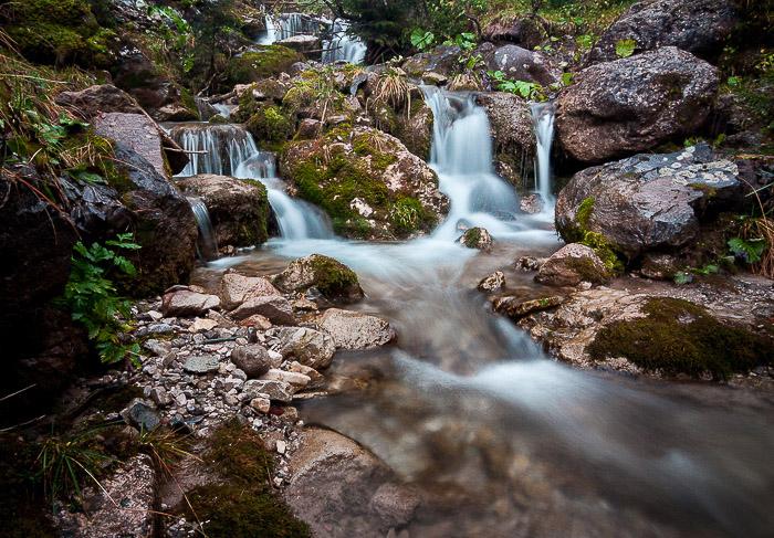 Beautiful waterfall photography