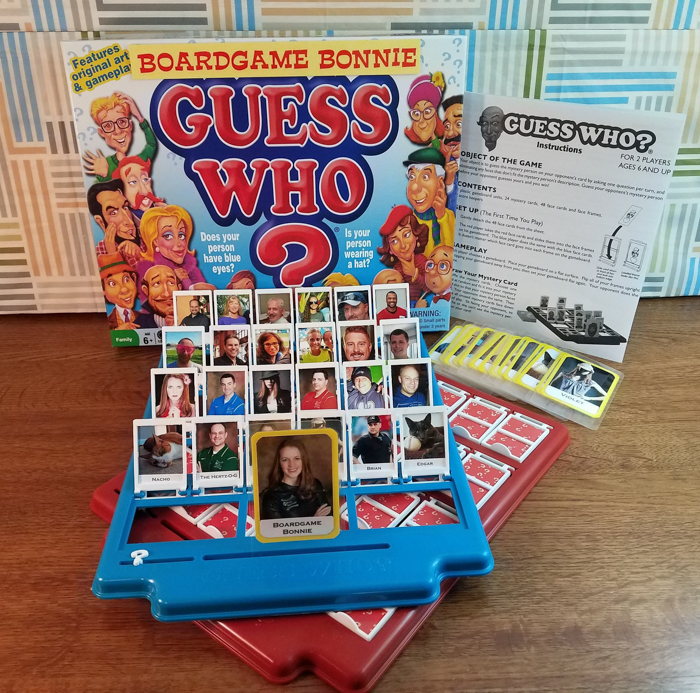 PersonalisedGuess Who? game, gifts for photographers