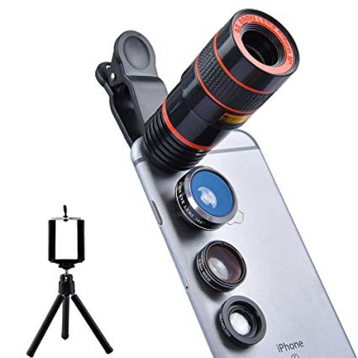 Apexel 4 in 1 Camera Phone Lens
