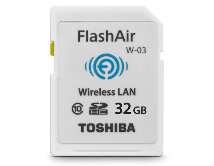 Toshiba 32GB FlashAir III Wireless SD Memory Card