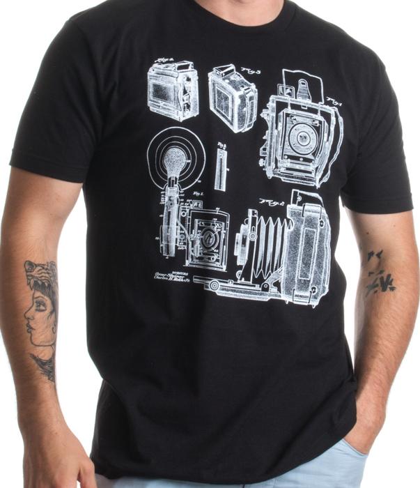 1938 Graflex Speed Graphic Camera T-Shirt