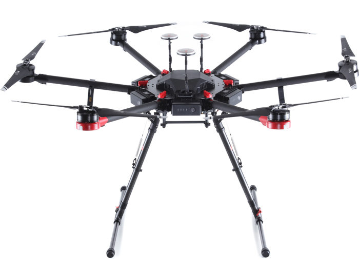 An image of the DJI Matrice 600 Pro Hexacopter