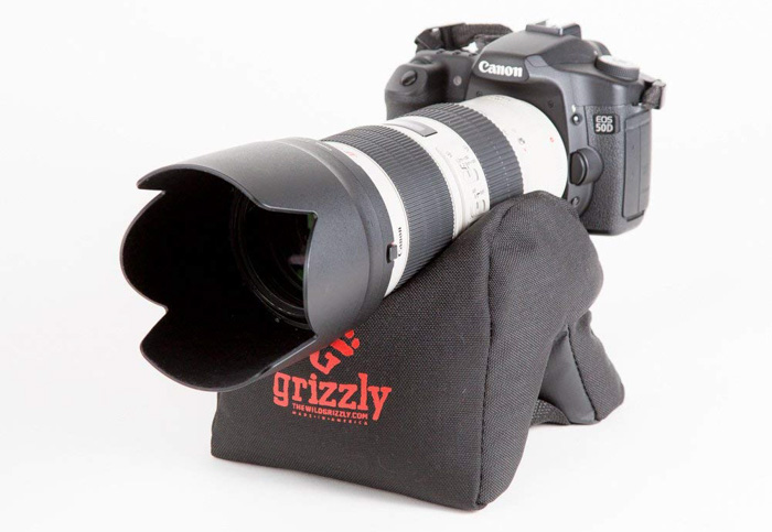 Grizzly Camera Bean Bag