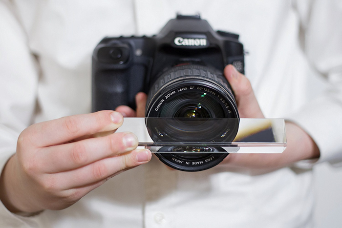 Photography Prism With Cleaning Pouch