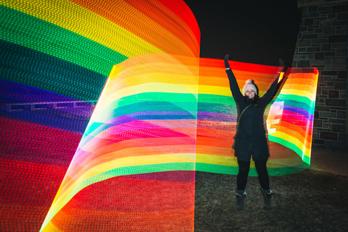 Pixelstick Lightpainting LED Tool, photo gifts