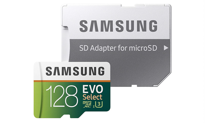 Samsung MicroSD Memory Card- best gifts for photographers