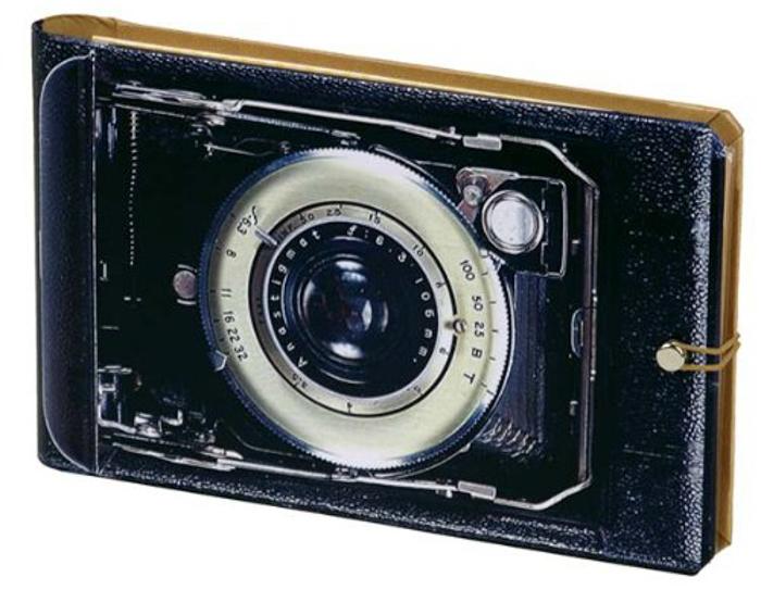 Vintage Camera Photo Album - photographer gift ideas
