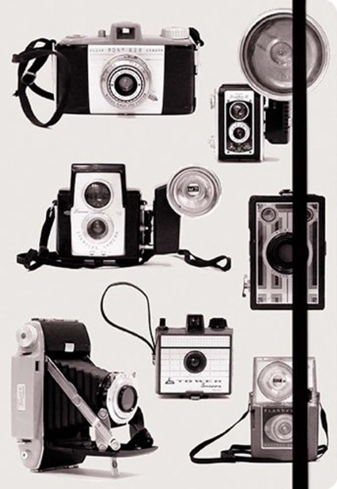 Vintage Cameras Journal - gifts for photographers