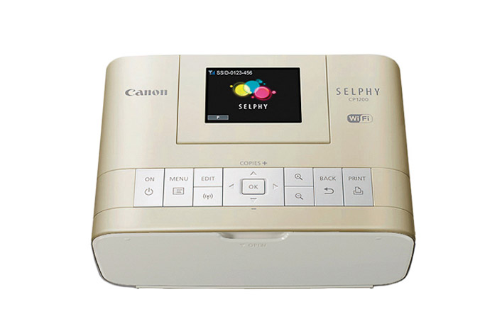 Canon Selphy CP1200 Wireless Photo Printer - iphone printer