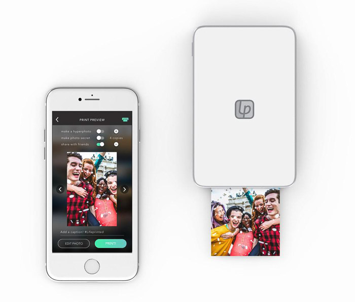 Lifeprint 3 x 4.5 Hyperphoto Printer - best iphone photo printer