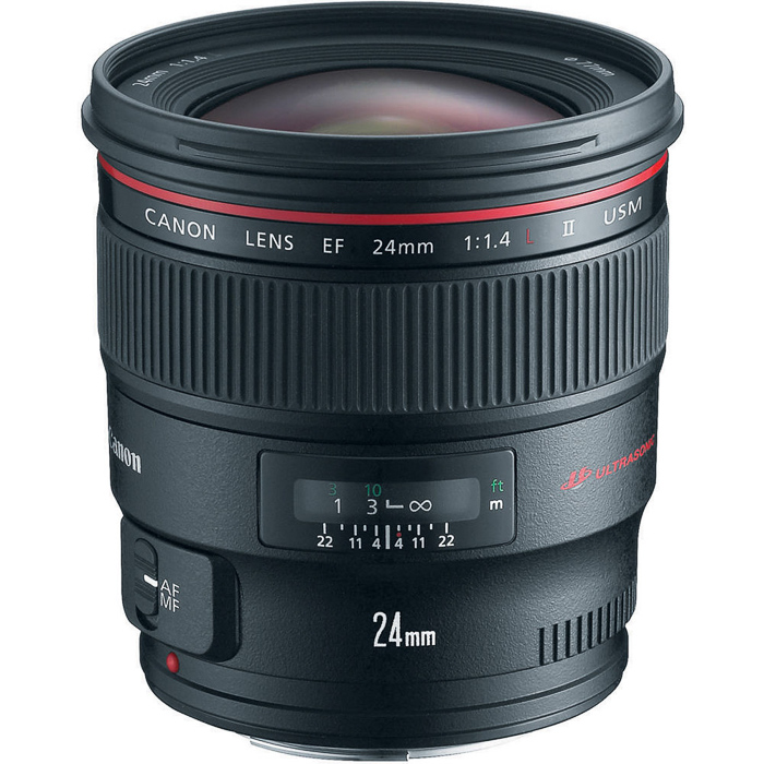Canon EF 24mm f/1.4L II USM, best canon lenses
