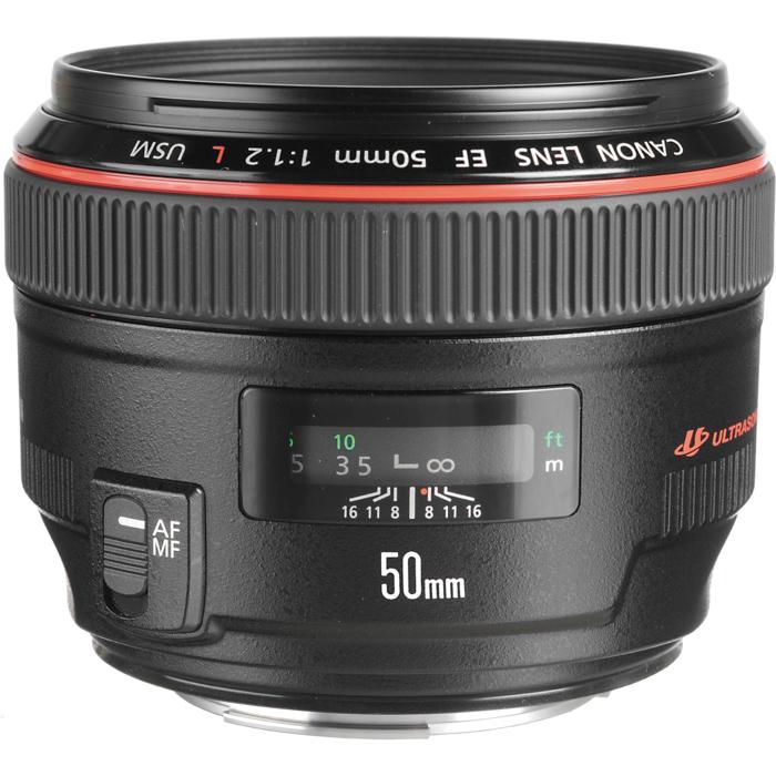 Canon EF 50mm f/1.2L USM - canon camera lenses