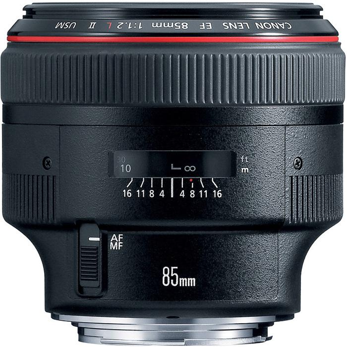 Canon EF 85mm f/1.2L II USM canon lenses