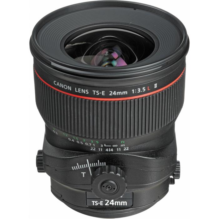Canon EF TS-E 24mm f/3.5L II lens