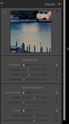 Removing Color Noise in Lightroom