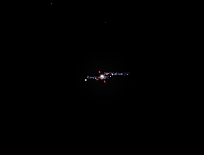 Jupiter seen with a Skymax 90/1250 on MFT camera - sensor size