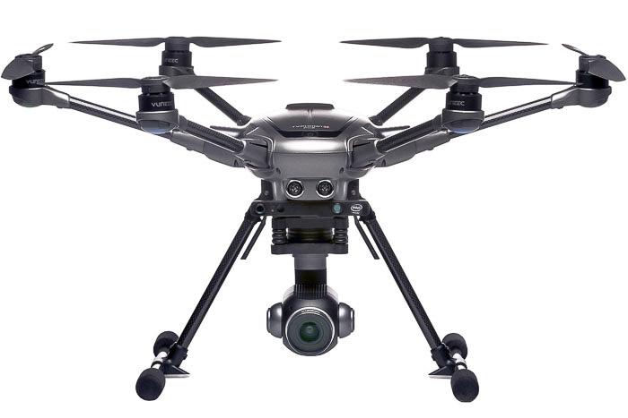 Yuneec Typhoon H Plus, best professional drones