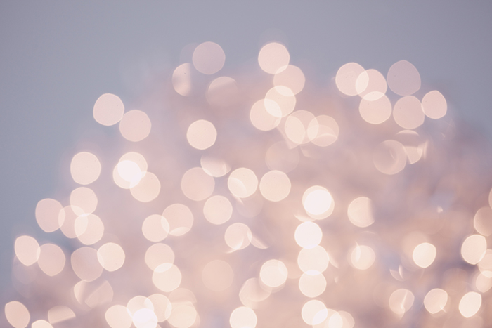 Beautiful bokeh lights photo