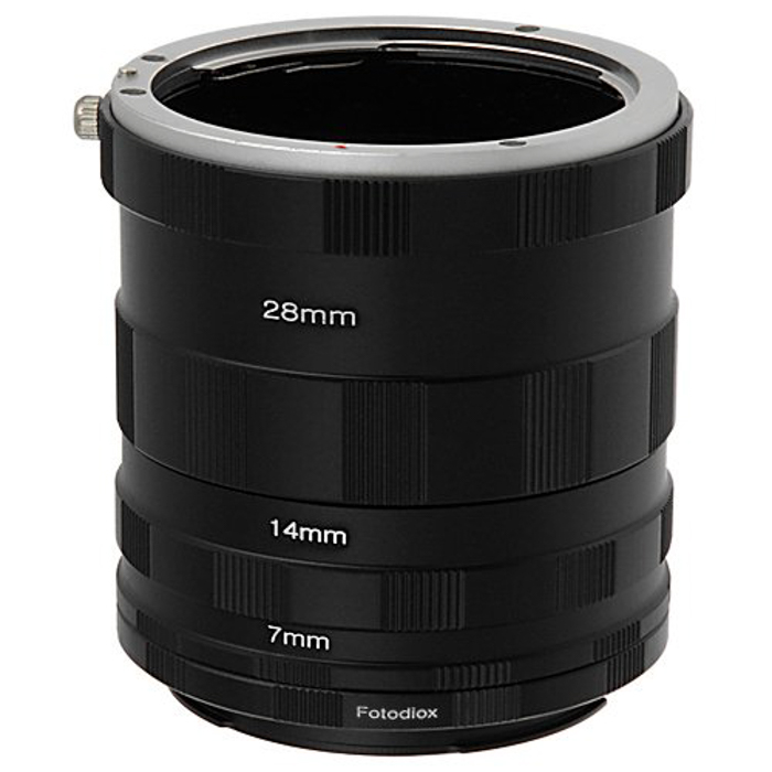 An extension tube for macro photography