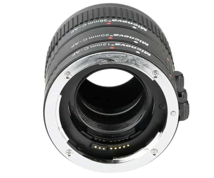 An extension tube for close up photography