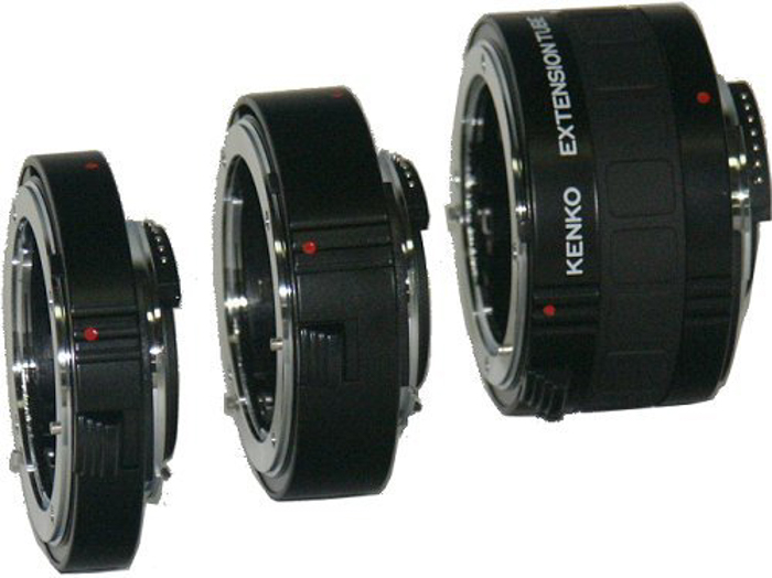 Extension tubes for macro and close ups