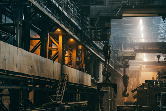 Stunning interior industrial photography