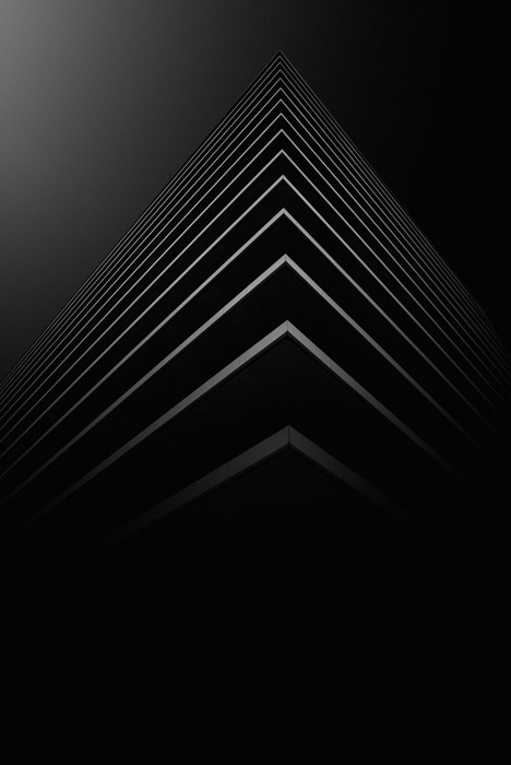 minimal abstract photography example with an emphasis on line