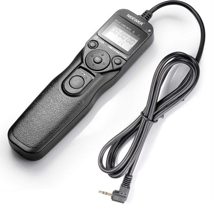 Canon Intervalometer Neewer LCD Timer Shutter Release Remote
