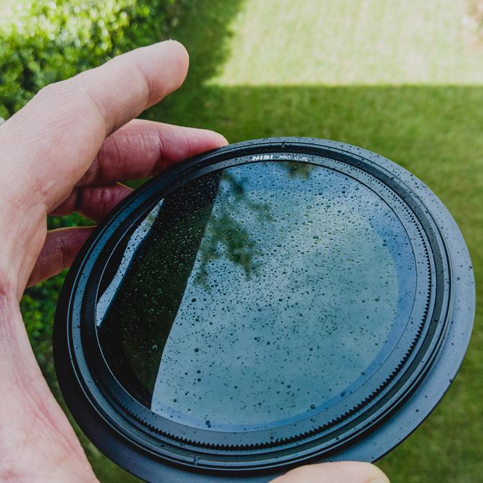 The NiSi V5 Circular Polariser filter
