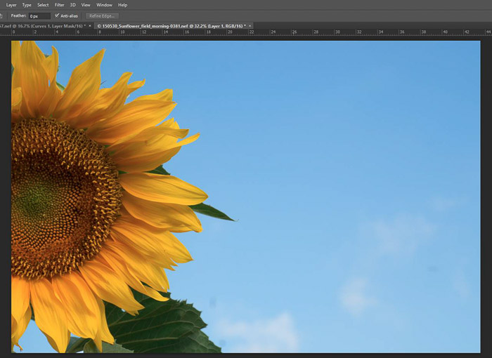 a screenshot showing how to edit in Photoshop