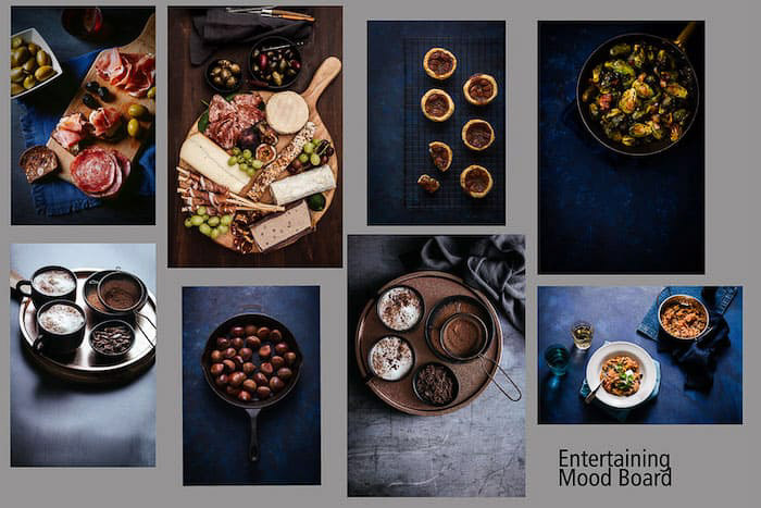 How to create a photography mood board example