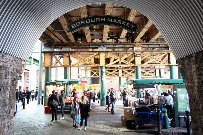 A photo of Borough market - best london pictures