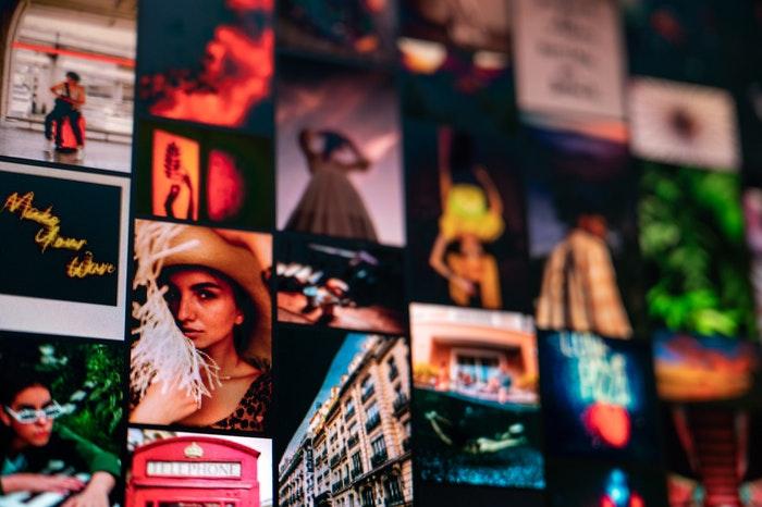 Un collage en lightroom.