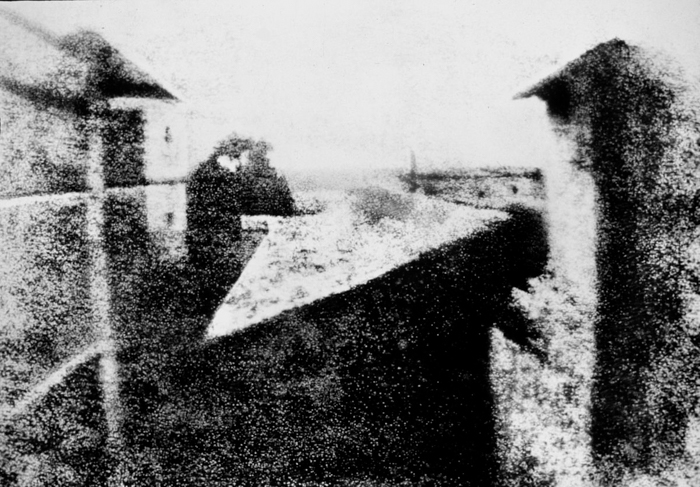 View From The Window At Le Gras - Joseph Nicéphore Niépce, most iconic photos