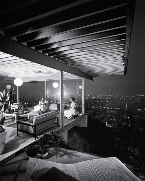 Case Study House No. 22 - Julius Shulman, famous photos