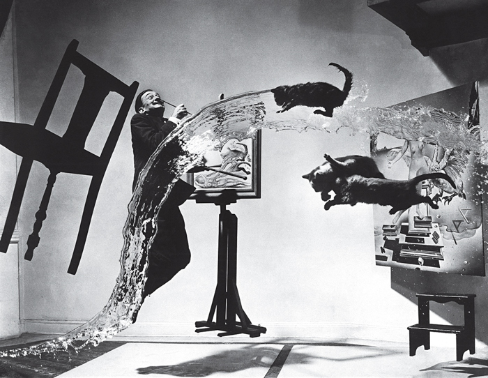Dalí Atomicus by photographer Philippe Halsman
