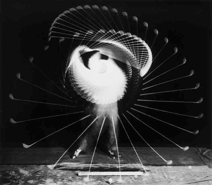 Golfer - famous pictures by Harold Edgerton