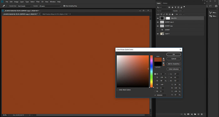A screenshot showing how to refine the look of Your Displacement Map in Photoshop