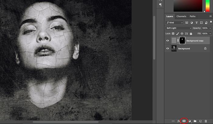 Uma captura de tela mostrando como criar retratos abstratos no Photoshop