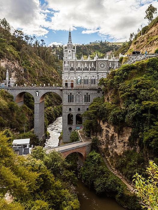 Las Lajas Sanctuary, Nariño