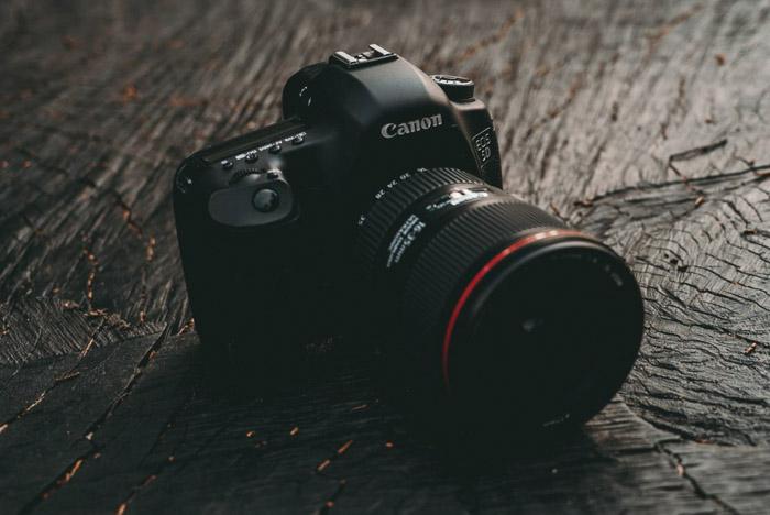 A canon dslr camera
