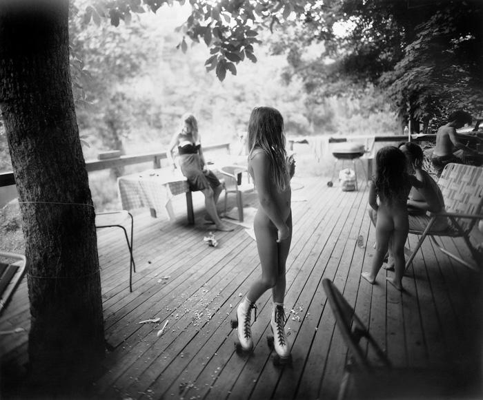 White Skates - Sally Mann (1990) Controversial photography