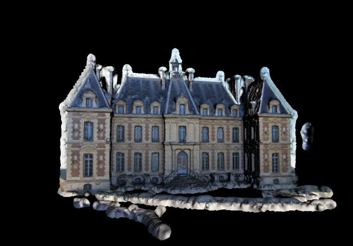 Sceaux Castle - a 3d model created by Pierre Moulon