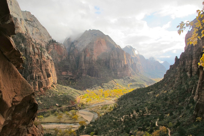 A stunning view of Zion Park - Utah, USA, beautiful photography locations