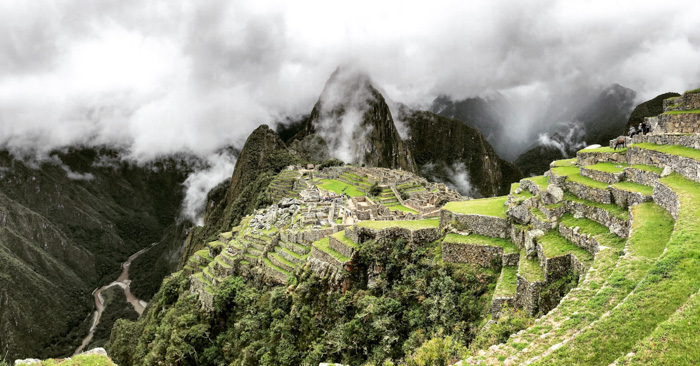 A breathtaking view of macchu pichu - famous places to photograph